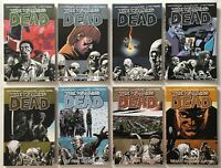 The Walking Dead #s 1 5 6 9 13 14 15 16 18 TPB Lot of 9 Image AMC TV Show Comics