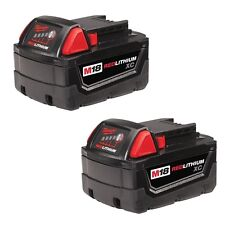 New Genuine Milwaukee M18 XC 5.0 Extended Capacity Battery 48-11-1852 Pack Of 2