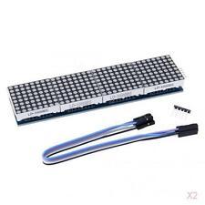 2x MAX7219 Dot Matrix LED Display Control Module For Arduino Raspberry Pi