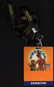 2014 Mega Con Comic Convention Exhibitor Badge Orlando, FL