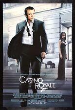 CASINO ROYALE * CineMasterpieces 1SH DS JAMES BOND 007 ORIGINAL MOVIE POSTER