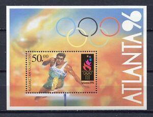 s813) KAZAKHSTAN 1996 MNH** Modern olympics s/s