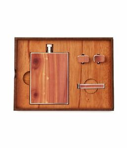 Woodchuck Unisex The Roosevelt Gift Drinking Flask, Brown, No Size