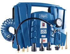 scheppach Kompressor Air Force 4 Luftkompressor tragbar Mobil + Zubehör 1100 W