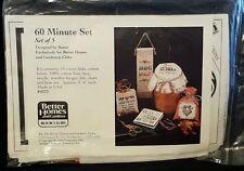 60 minute cross stitch kit BHG book clubs NIP
