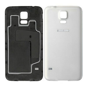 Shimmery White Battery Cover For Samsung Galaxy S5 G900F i9600 Original