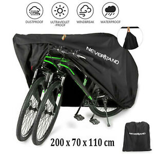 Waterproof Outdoor Bicycle Cover Duty Anti UV Rain Dust Mountain Bike Covers+Bag