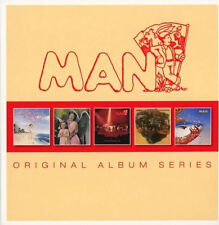 Man ORIGINAL ALBUM SERIES Slow Motion RHINOS WINOS & LUNATICS New Sealed 5 CD