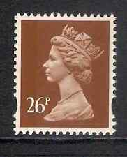 GB 1996 sg Y1776 26p Chestnut 2 bands MNH (ex Y1753)