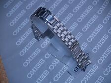 Seiko 17 mm Reloj Correa De 2 Piezas De Acero Inoxidable Pulsera 4526-B.E