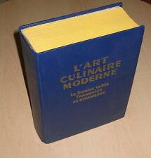 L 'art Culinaire Moderne Livre de cuisine La bonne table française et etrangere