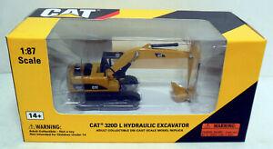 1/87 HO Norscot Models Caterpillar CAT 320D L Hydraulic Excavator