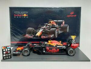Model Car Formula 1 Spark Scale 1:18 Red Bull Honda Verstappen 2020 Diecast