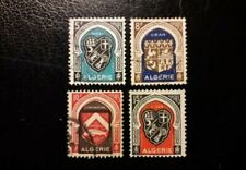 ( FRENCH Algeria 1948 YVERT 268-271 Ccomplete set used stamps)