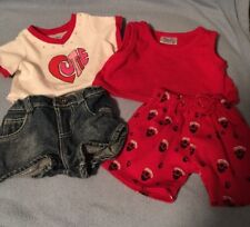 Build A Bear 2 Outfits Puppy Love And Cutie Valentine's Day 4 Pieces