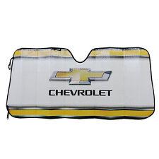 New CHEVY Bowtie Elite Car Truck Suv Windshield Accordion Folding Sun Shade
