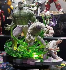The Incredible Hulk Transformation Statue Custom Rare