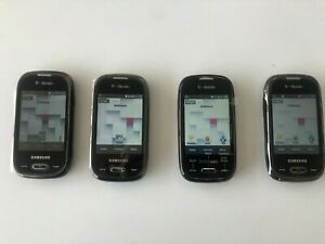 Lot of 4 Samsung Gravity Q SGH-T289 - Brown (T-Mobile) Cellular Phone