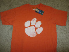 NWT Clemson Tigers DAD T-Shirt L NCAA College Fanatics Cotton Orange Football