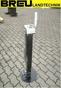 Stützfuß mechanisch 3000 kg zu Krone Big Pack schwarz ET-Nr.:  270047351
