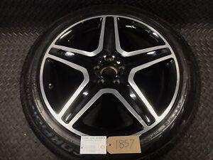 """Mercedes ML W166 20"""" 9j Alloy Wheel A1664012002 265/45R20 6mm Pirelli #1857"""