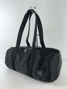 Porter yoshida black nylon mini duffle bag made in Japan