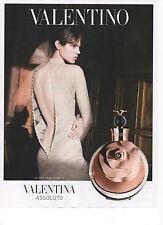 Publicité Advertising 2012 parfum VALENTINA assoluto
