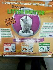 Cat Toilet Training System By Litter Kwitter 3-Step Doogie's Original