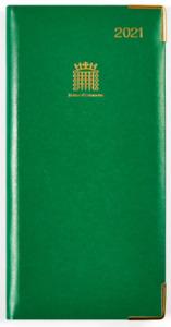 Official British Parliament Diary 2021 | Brand New | Elegant Design | Smythson