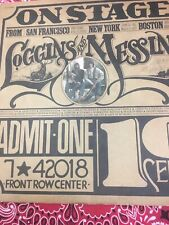 """Loggins And Messina """"On Stage"""" Double LP"""