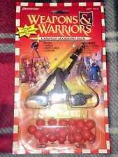 WEAPONS AND WARRIORS 1995 Catapult Accessory Pack Pressman NEW VTG Board Game