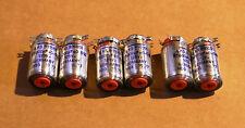 Siemens polystyrene styroflex NOS 25000pf 125v 0,5% capacitors 6 caps