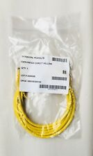 Lot of 13 Hellermann Tyton PC6YEL3S Category 6 CAT6 Patch Cord 7' 7FT