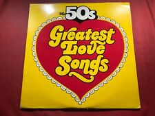 V2-100 THE 50s GREATEST LOVE SONGS ... DOUBLE ALBUM ... DS 724