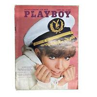 PLAYBOY Magazine Vintage Centerfold August 1966 Jane Fonda