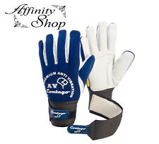 L Contego Anti Vibration GEL Leather Gloves. High Quality Work Safety Glove