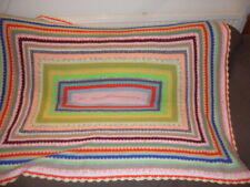 Huge Granny knit  - Chunky Stitch Blanket - Throw