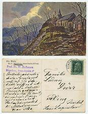 27850 - Milseburg, Rhön - Ansichtskarte, gelaufen München 10.10.1913