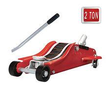 Cric idraulico a carrello 2 TON 2000 KG sollevatore martinetto per gomme auto