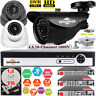 16/4/8CH CCTV DVR Recorder Home Outdoor Night Vision Security Camera System Kit