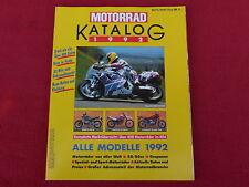Der Original MOTORRAD-KATALOG Ausgabe 1992  Motorradkatalog