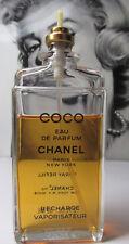 Vintage Chanel COCO 2.0oz Eau de Parfum Spray in Black case