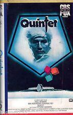Quintet (1979) VHS rara 1a Edizione CBS FOX  Paul  Newman Vittorio Gassman