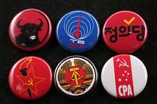 World Communist Party Button Badge Lot Soviet DDR Indonesia Korea Australia 6