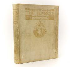 """William Shakespeare """"The Tempest"""". Hodder & Stoughton, London, 1908. Ltd Ed"""