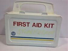 Vintage First Aid Kit Bell System w/ Contents Wall Mount Case