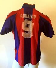 MAILLOT DE FOOT BARCELONA RONALDO REPRODUCTION 9# FOOTBALL HAUT JERSEY VINTAGE