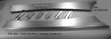 Chevrolet Chevy Car Steel Running Board Set 40 1940 - All Body Styles
