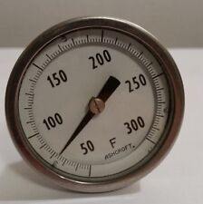 """Ashcroft Stainless 2"""" Thermometer 300 degrees F"""