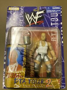 WWF Autographed Jeff Jarrett Action Figure Jakks Pacific Double J NIP